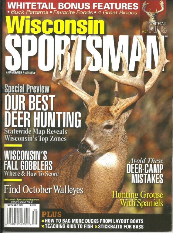 Wisconsin Sportsman magazine October 2013 fall turkey hunting